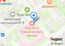Компания «Центр флебологической помощи varikoznog» на карте