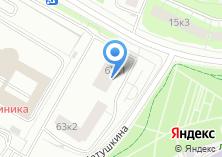 Компания «СитиДомСтрой» на карте