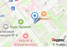 Компания «Вкусное место» на карте