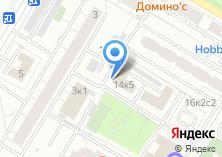 Компания «Автостоянка на ул. Ивана Бабушкина» на карте