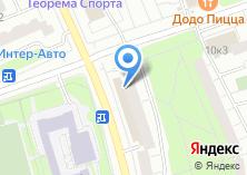Компания «МосОптика» на карте