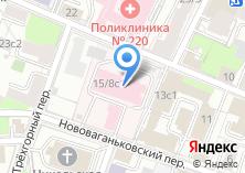 Компания «Городская клиническая больница №19» на карте