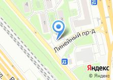 Компания «Продуктовый магазин на Линейном проезде» на карте