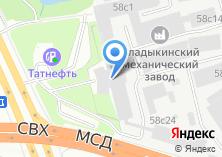 Компания «Аграрная Россия» на карте