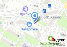 Компания «Серебровский» на карте