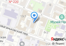 Компания «Гидрометеорологическое бюро г. Москвы и Московской области» на карте