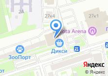 Компания «Московская служба переездов» на карте