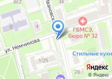 Компания «Бистро на Ивановской» на карте
