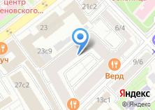 Компания «Строящийся жилой дом по ул. Малая Пироговская» на карте