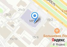 Компания «Международный университет в Москве» на карте
