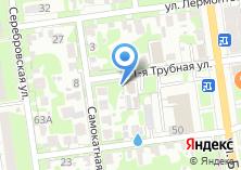 Компания «Рубеж-СВ» на карте