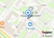 Компания «Территориальная избирательная комиссия района Беговой» на карте