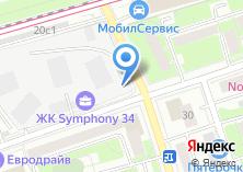 Компания «Шиномонтажная мастерская на Башиловской» на карте