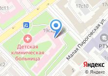 Компания «Клиника стоматологии и ортодонтии детского возраста им. И.М. Сеченова» на карте