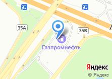 Компания «Газпромнефть» на карте