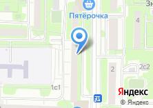 Компания «Тикор» на карте