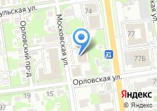 Компания «Строящееся административное здание по ул. Орловская» на карте
