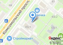 Компания «Ателье Галины Дмитриевой» на карте