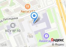 Компания «Аналит сервис» на карте