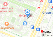 Компания «Добромед» на карте
