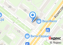 Компания «Студия интерьера Людмилы Пожидаевой» на карте