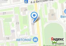 Компания «Инженерная служба Савеловского района» на карте