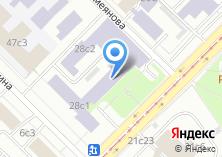 Компания «ИНЭОС» на карте