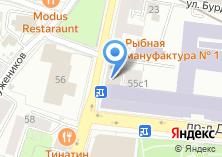 Компания «Связьинвест» на карте