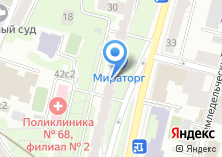 Компания «АКБ ЗОЛОСТБАНК» на карте