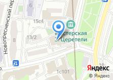 Компания «Храм великомученика Георгия Победоносца в Грузинах» на карте
