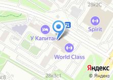Компания «World Class» на карте