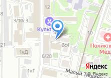 Компания «Юристат» на карте