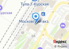 Компания «Тула-8» на карте