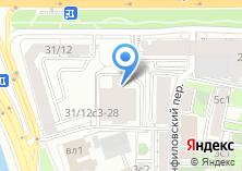 Компания «АКБ Еврофинанс Моснарбанк» на карте