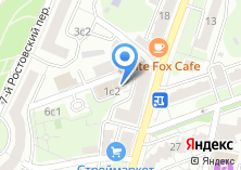 Компания «Краун» на карте