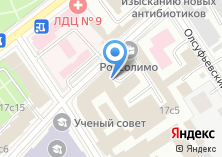 Компания «Московская Областная коллегия адвокатов №74» на карте