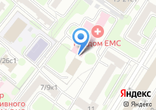 Компания «СТС Медиа» на карте