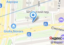 Компания «АБ ИнтерПрогрессБанк» на карте