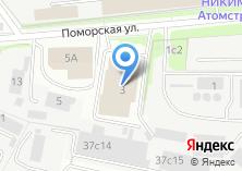 Компания «Лорно» на карте