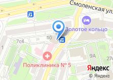 Компания «АКБ Руссобанк» на карте