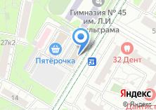 Компания «Мегаполис-Центр» на карте