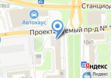 Компания «Владыкино» на карте