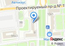 Компания «Блакушина и Партнеры» на карте