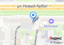 Компания «Моне» на карте