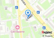 Компания «Мастерская по ремонту одежды обуви и изготовлению ключей на ул. Яблочкова» на карте