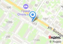 Компания «Магазин канцелярских товаров на ул. Болдина» на карте