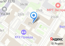 Компания «Планета Фитнес» на карте