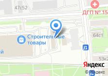 Компания «Техинвест» на карте