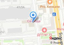 Компания «На Верх» на карте
