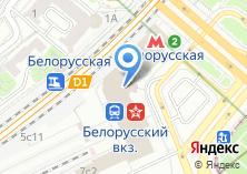Компания «Белорусский вокзал» на карте